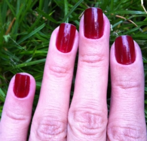 berry nails of the week