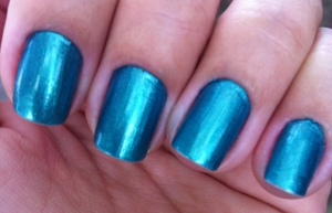 JAde green nails