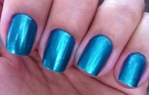 JAde green nails