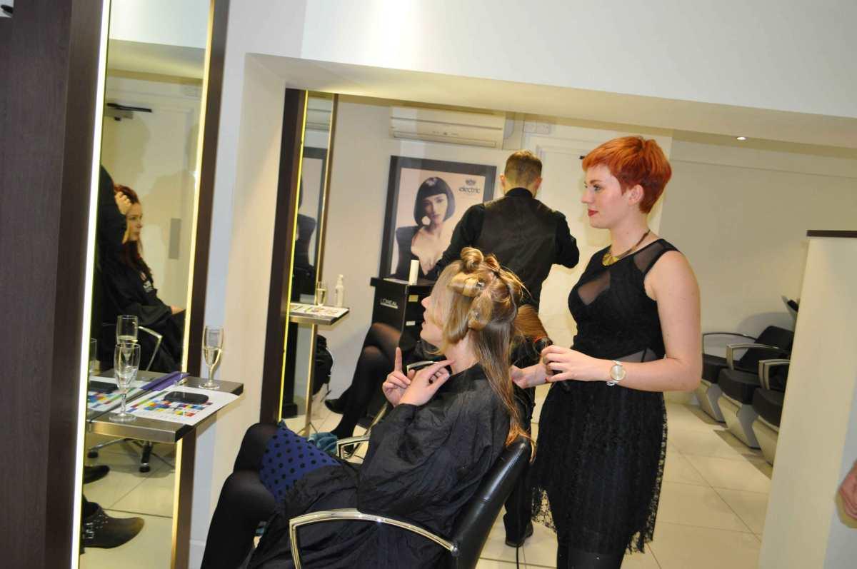 More hair magic from Freya...