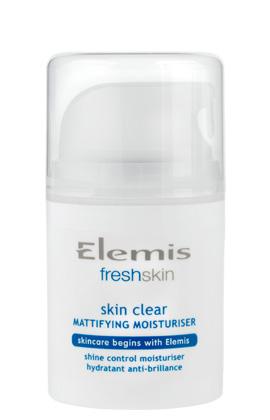 elemis freshskin mattifying moisturiser - image from Elemis