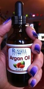 Russell Organics argan oil