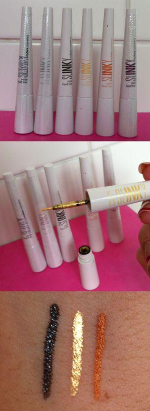 myface.cosmetics liquid eyeliners