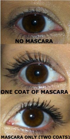 hourgalss mascara on eye - somanylovelythings