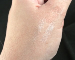 chapstick shimmer swatch