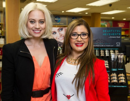 Kimberly Wyatt's Beautiful Movements Cosmetics and Dani Dutra from somanylovelythings