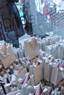 The goodie bags!