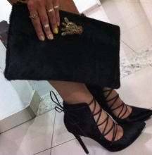 Viviana clutch and Schutz shoes - somanylovelythings