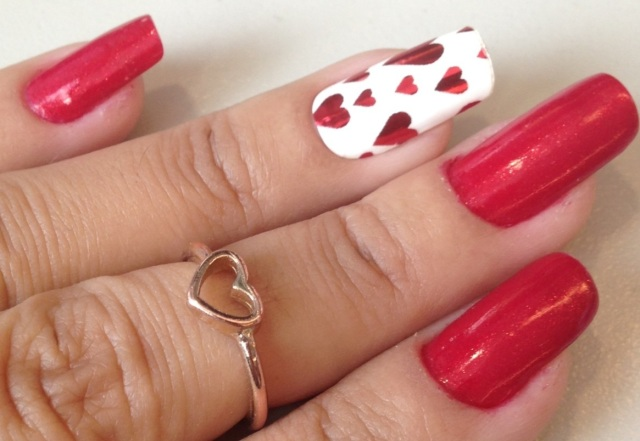 girlznailz random hearts wraps - somanylovelythings
