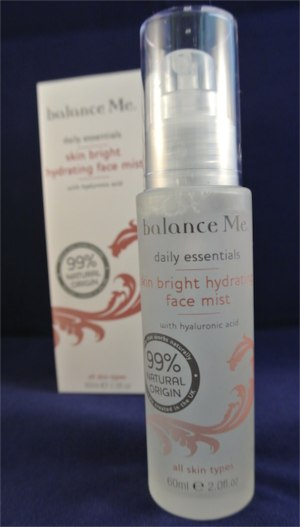 balance me hydrating face mist - somanylovelythings