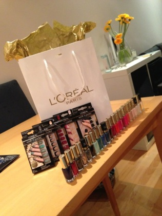 What came home with me - thank you L'Oréal Paris!