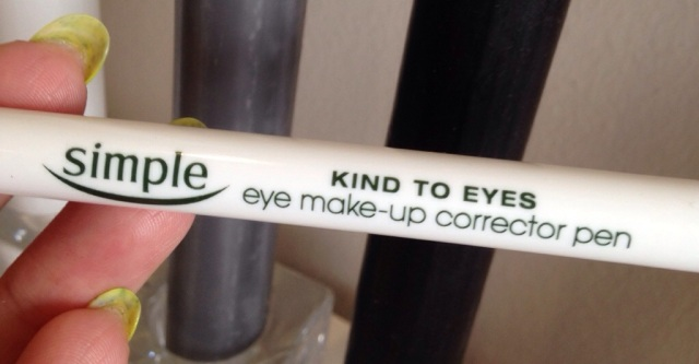 simple eye make-up corrector pen - somanylovelythings