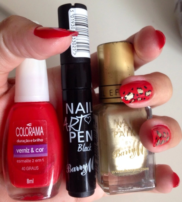 colorama 40 graus and barry m nail polishes, nail art pen - somanylovelythings