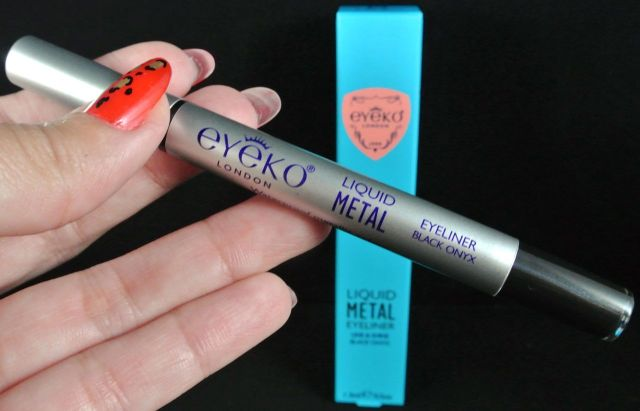 eyeko liquid metal eyeliner - black onyx