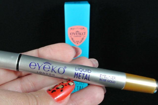 eyeko liquid metal eyeliner - rose gold