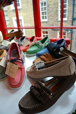 Sebago docksides - pretty colours!