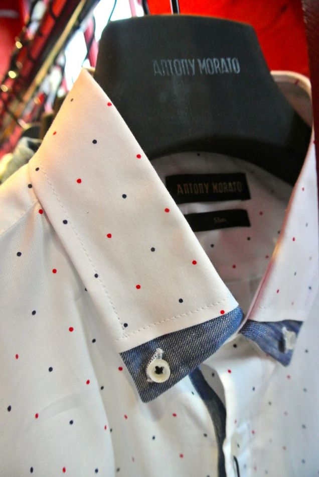 Love the shirt from Antony Morato