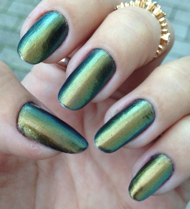 multi chrome nails - somanylovelythings