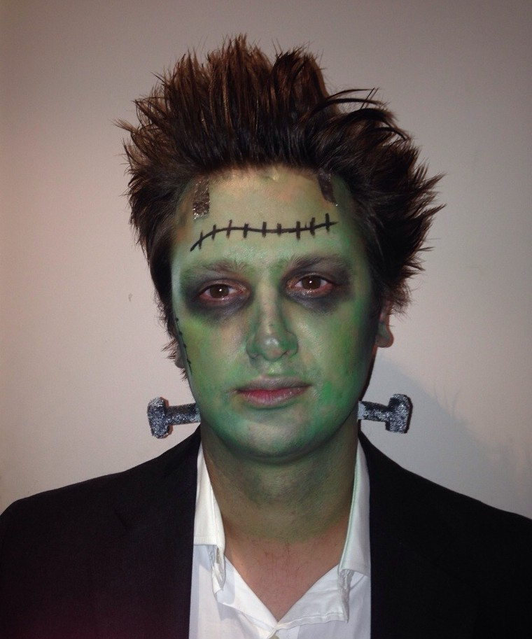 frankenstein halloween look - somanylovelythings