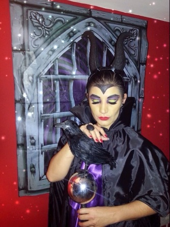 Dani as Maleficent - somanylovelythings