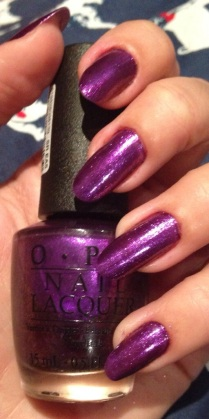 OPI Purple-iscious for QVC 20th birthday