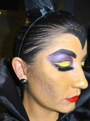 Maleficent Halloween look - somanylovelythings