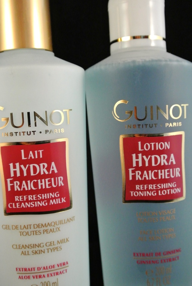 guinot cleanser and toner