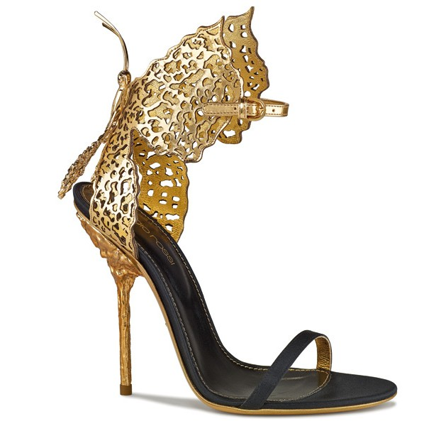 sergio rossi papillons sandals