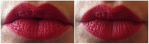 how to apply red lipstick - somanylovelythings
