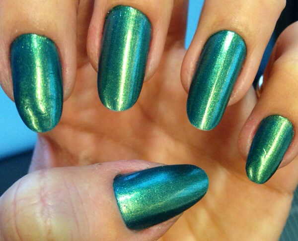green nails jn beauty nail lacquer - somanylovelythings