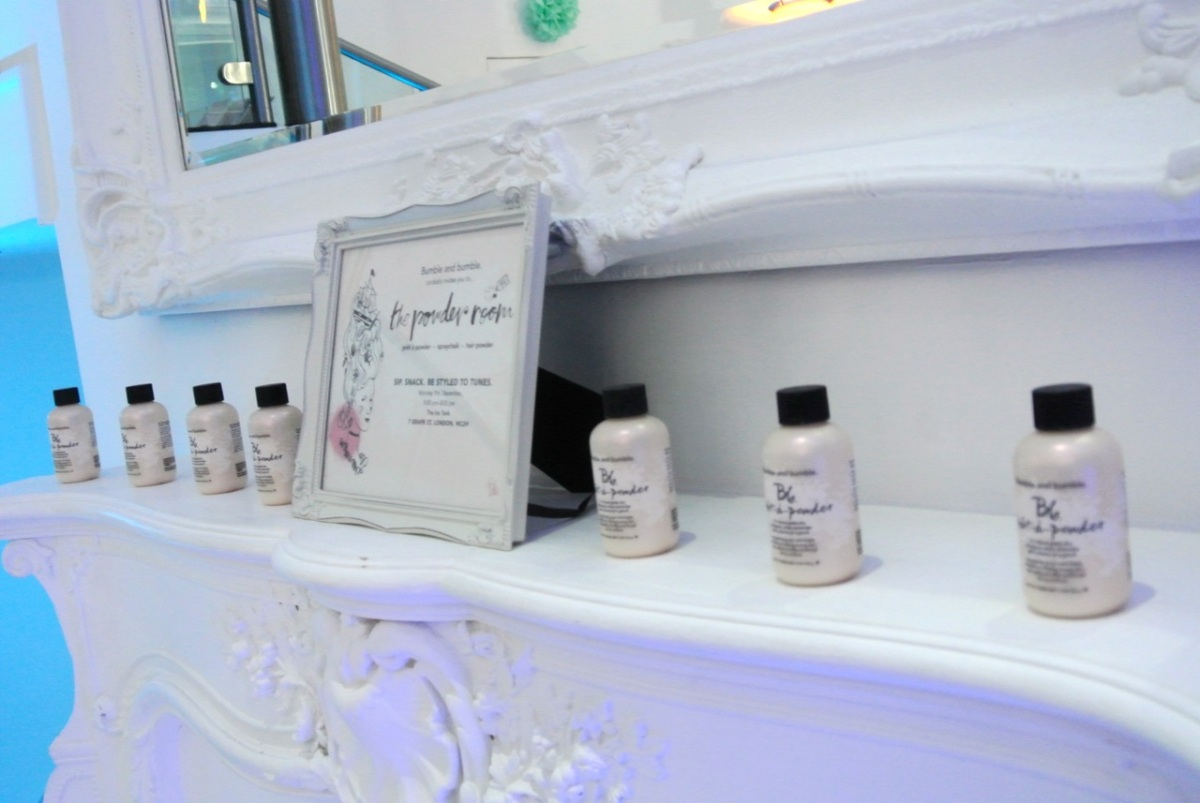 Bumble and Bumble Prêt-à-Powder and powder room event - somanylovelythings