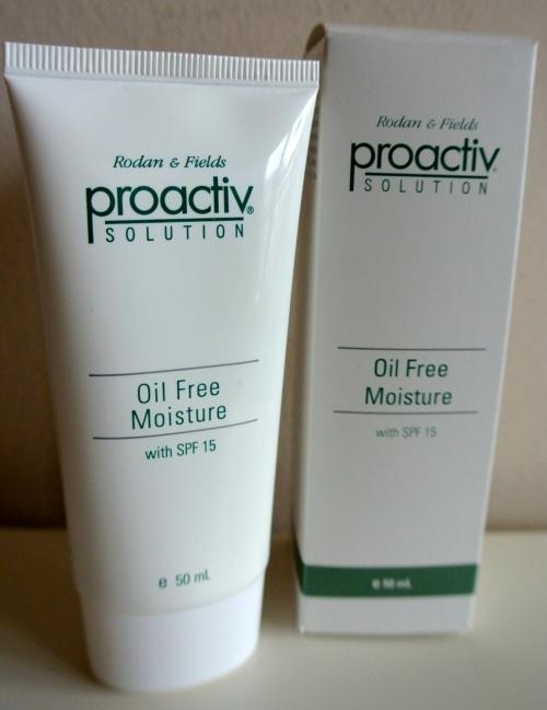 Proactive oil-free moisturiser