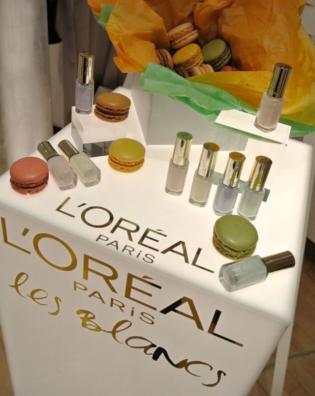 l'oreal color riche les blancs