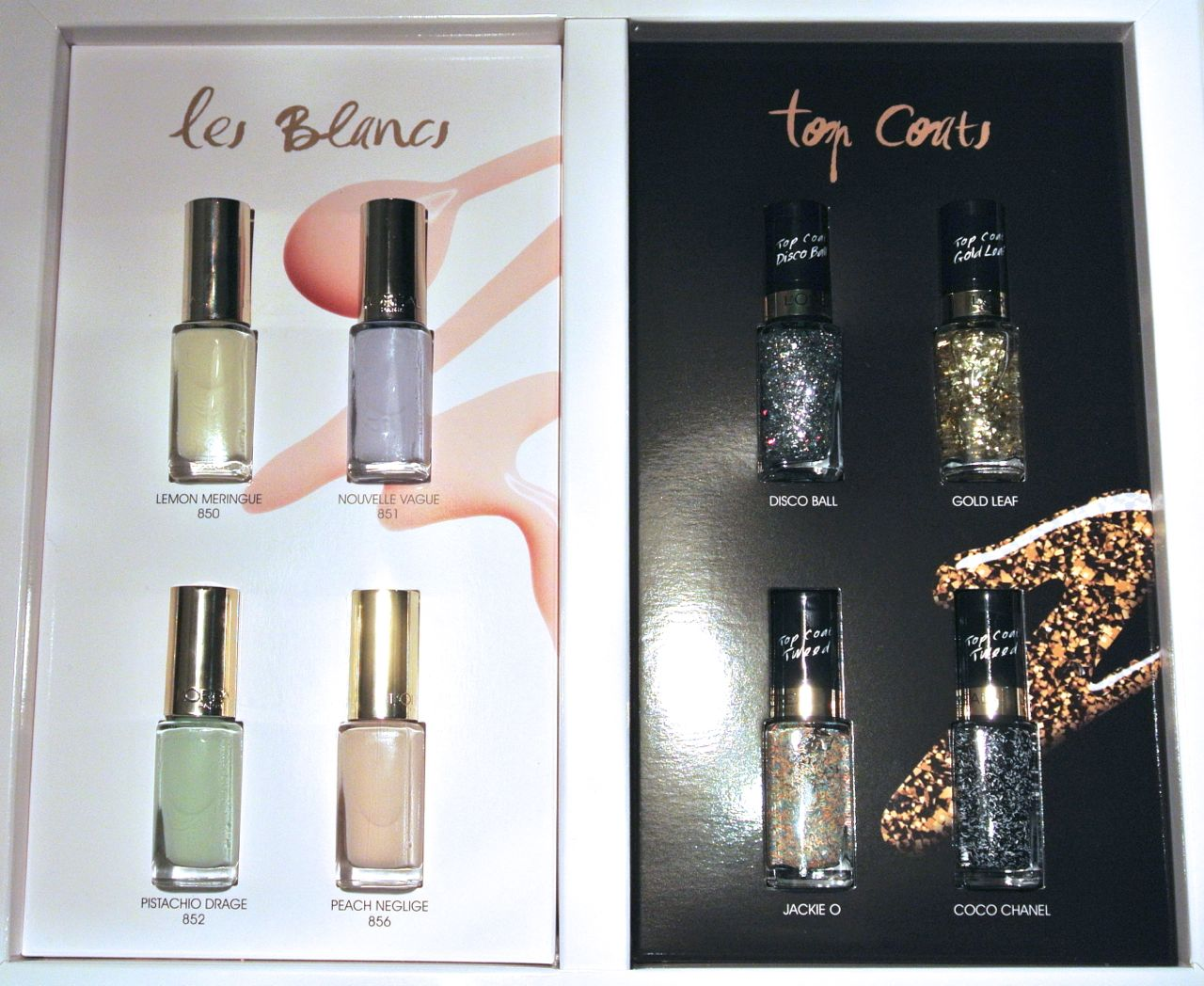 NEW: L'Oréal Paris Color Riche Les Blancs nail polishes and ...