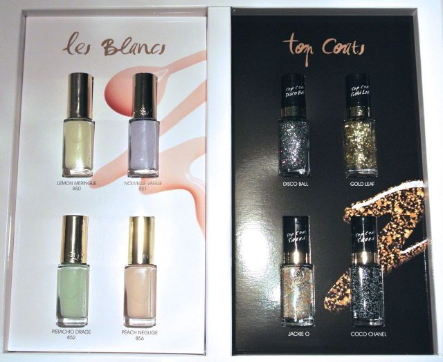 loreal color riche les blancs and topcoats