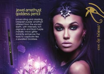 Eye of Horus Goddess Eye Pencil in Jewel Amethyst