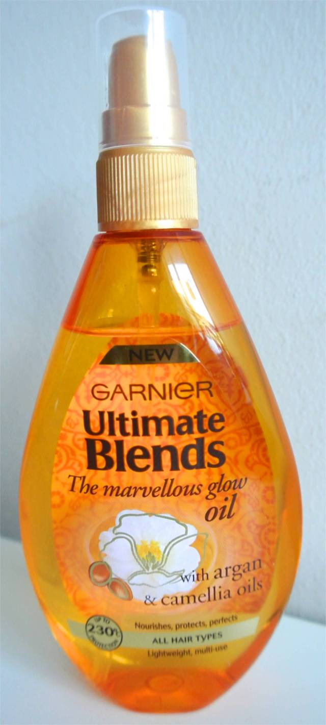 garnier ultimate blends marvellous glow oil