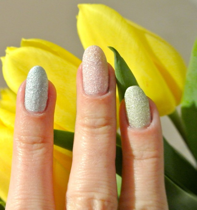 pastel nails GOSH cosmetics frosted nail lacquer - somanylovelythings