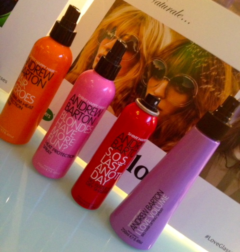 Andrew Barton hair styling products