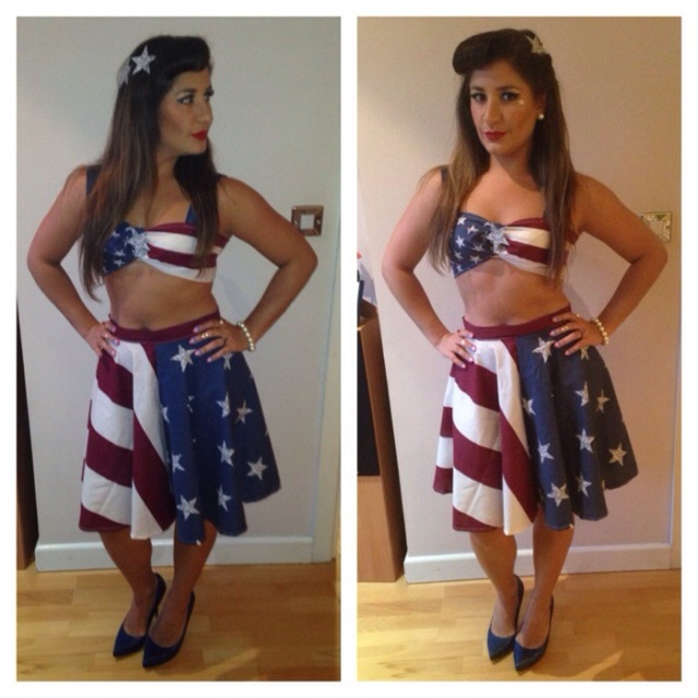 american-theme costume - somanylovelythings
