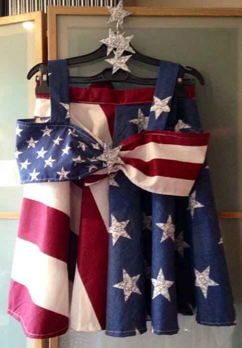 american-theme costume - somanylovelythings