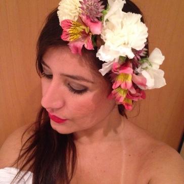 the flower appreciation society headband - liz earle
