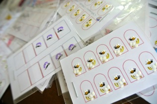nail stickers - somanylovelythings