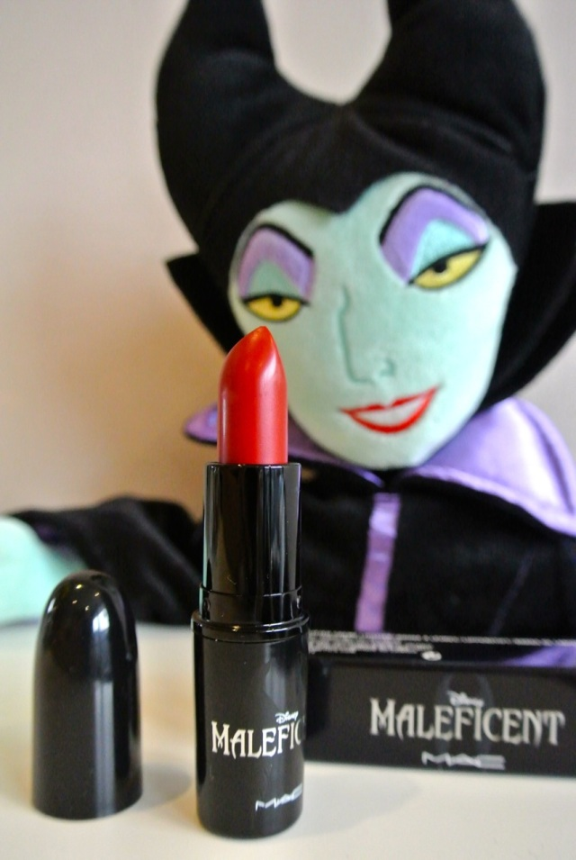maleficent by mac lipstick true love's kiss