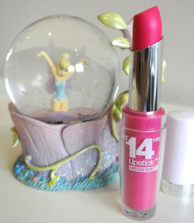 maybelline 14h superstay lipstick flash of fuchsia - swatch review