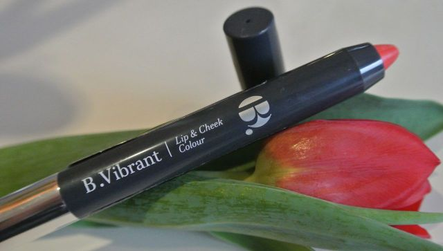 b. vibrant lip and cheek pencil