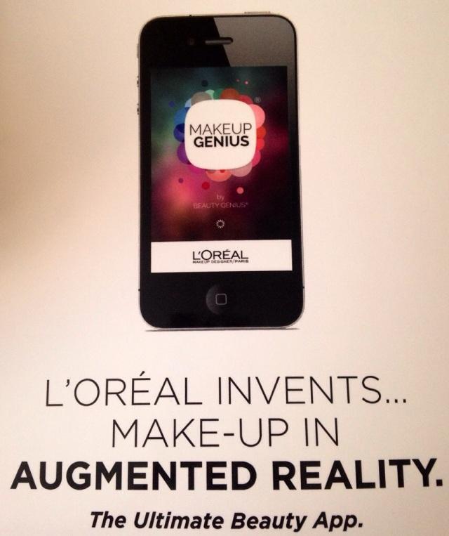 loreal makeup genius app
