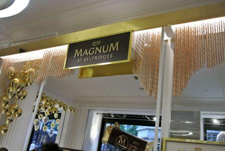 magnum at selfridges