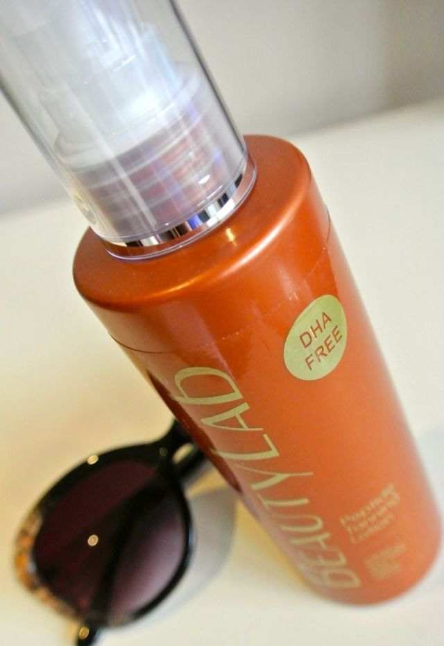 beautylab peptide tanning lotion dha free