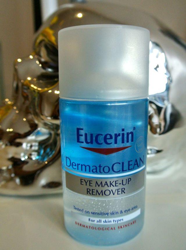 eucerin dermatoclean eye makeup remover